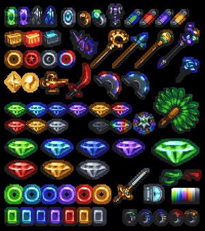 Sonic Series - Item Assets