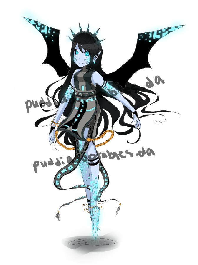 Demon Girl Adoptable (OPEN) by PuddiAdoptables