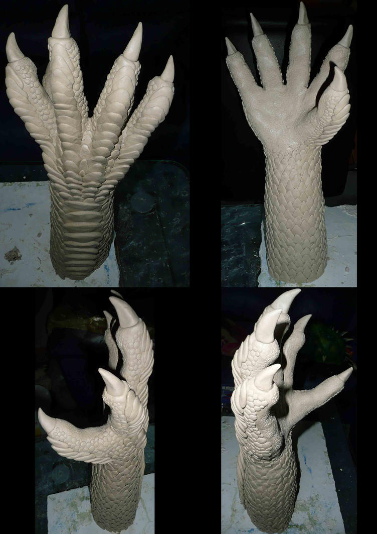 Larp Dragon Hands by Arooki