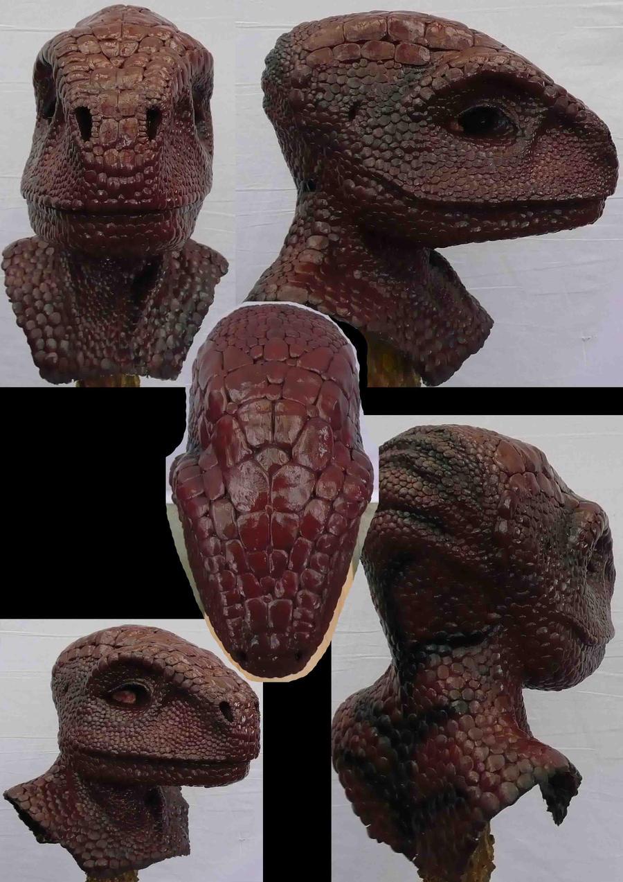 Larp Raptor Mask by Arooki