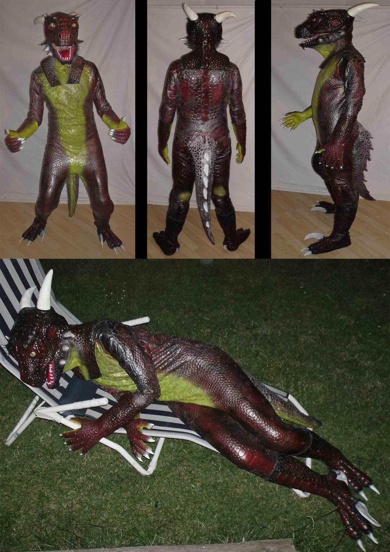 Latex Argonier Costume by Arooki