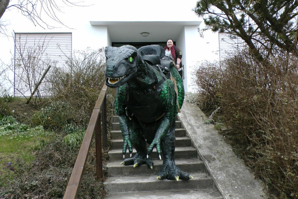 Selfmade phantasy Dinosaure 2016 Germany by Arooki