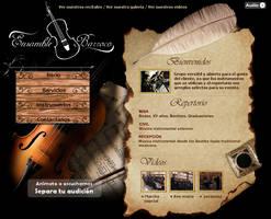 Ensamble Barroco Web Site by vivaelhuano
