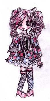Checkered Dress. by twisted-bunnies