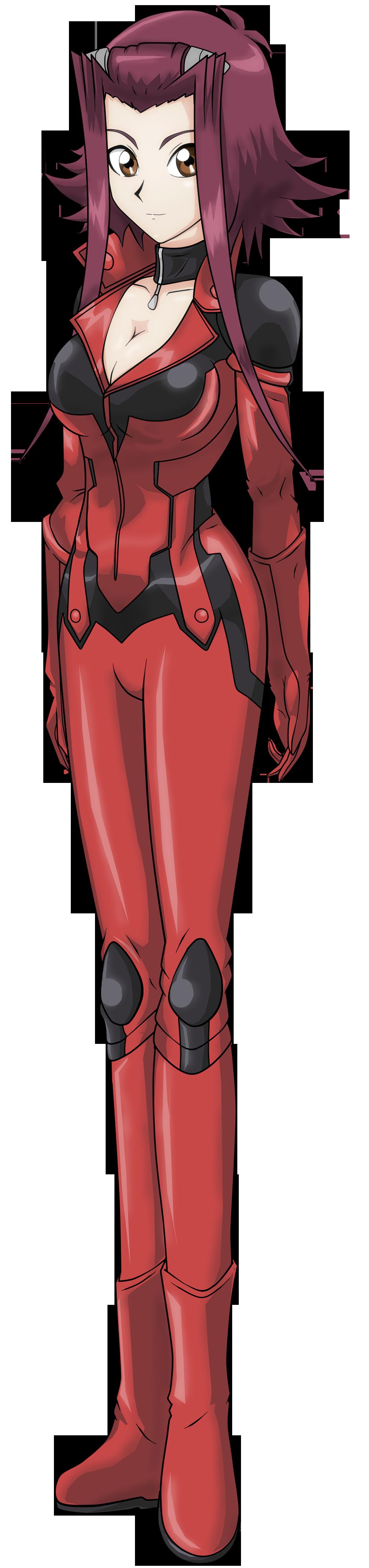 Aki izayoi-Asuka tenjouin | Shadow wolf, Asuka, Anime