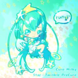 Cure Milky run by ef74