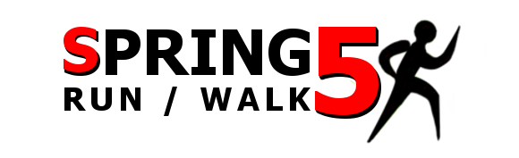 Spring 5K Walk/Run Logo by engineermk2004