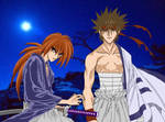Twilight - Sano and Kenshin