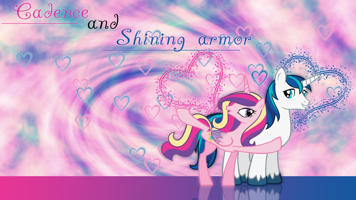 Cadence and Shining Armor Wallpaper by ALoopyDuck