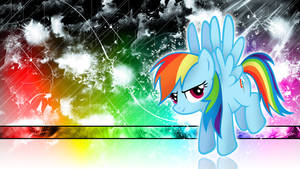 Rainbow Dash Spectral Wallpaper