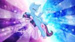 Trixie and Twilight Wallpaper