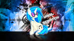 Vinyl Scratch Distortion Wallpaper