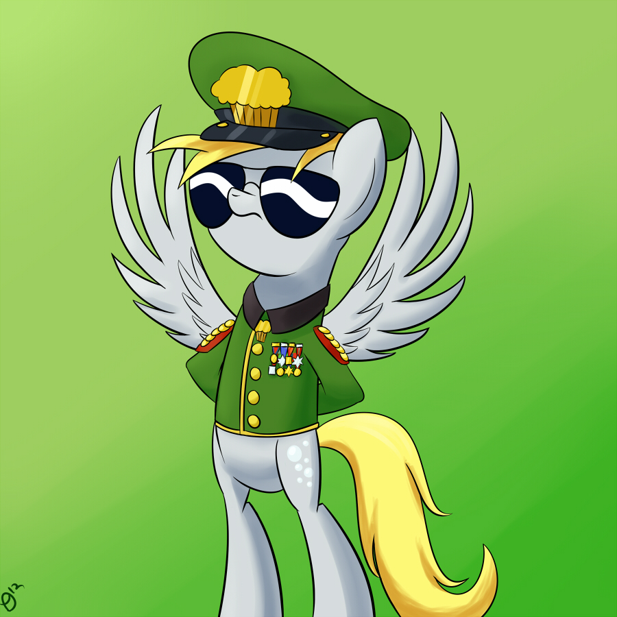 ATG Day 13: General Derpy by ParadigmPizza