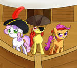 ATG Day 22: Cutie Mark Crusader Pirates! Yarrrgh!