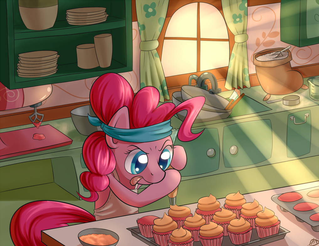 BronyCon 2013 Print: Pinkie Pie by ParadigmPizza