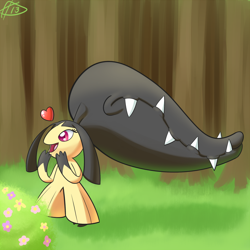 Day 5-Mawile by ParadigmPizza