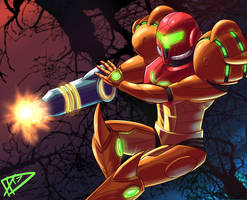 Samus by ParadigmPizza