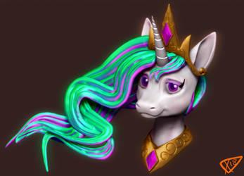 Sun Horse by ParadigmPizza