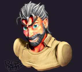 Old Man Joseph by ParadigmPizza
