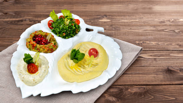 Arabic cuisine - Middle Eastern traditional