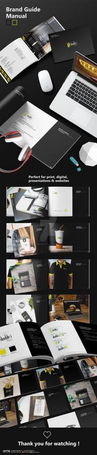 Brand Guide Manual - ii Resturant