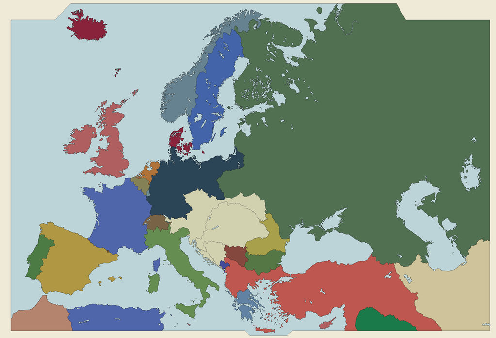 map of europe 1910 Map of Europe, 1910 by WhiteEaglePL on DeviantArt