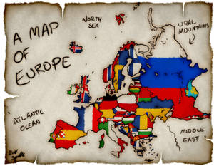 Continents: European Flags
