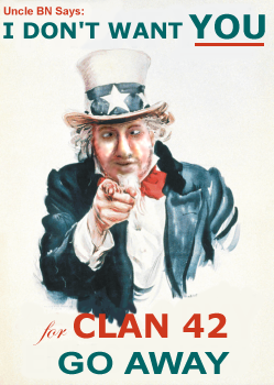 Uncle Sam Wants You Parody Uncle BN by TTFTCUTS