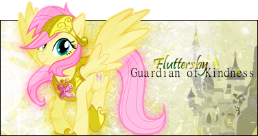 Fluttershy - Guardian of Kindness by BlackKiriin