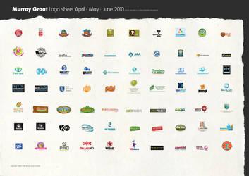 Logo sheet April, May, June 2010 by muzski