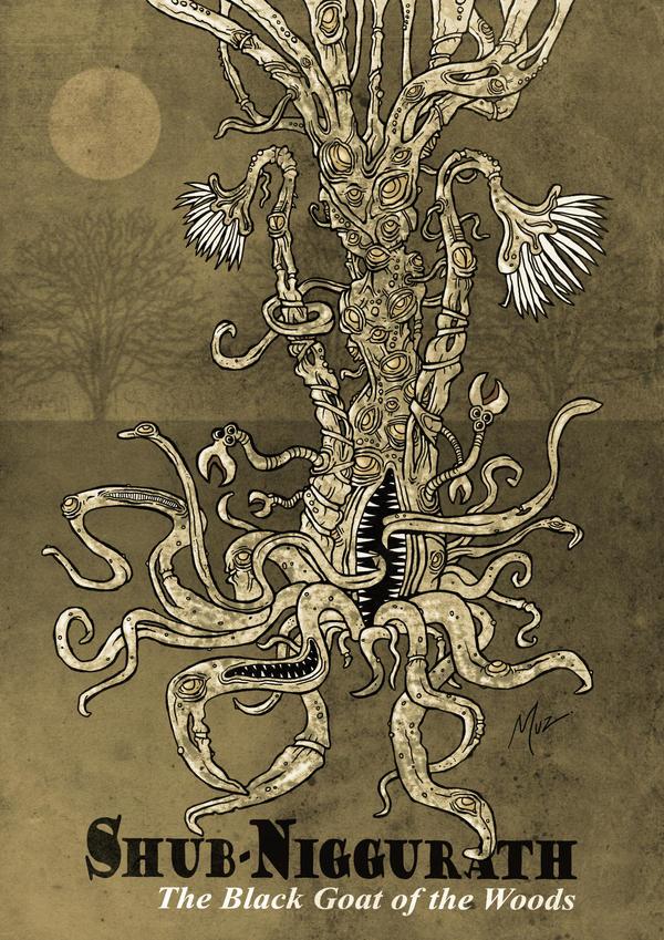Shub-Niggurath by muzski
