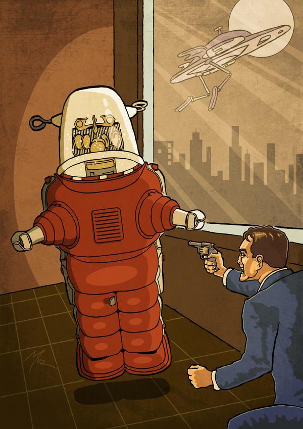Robo Encounter by muzski