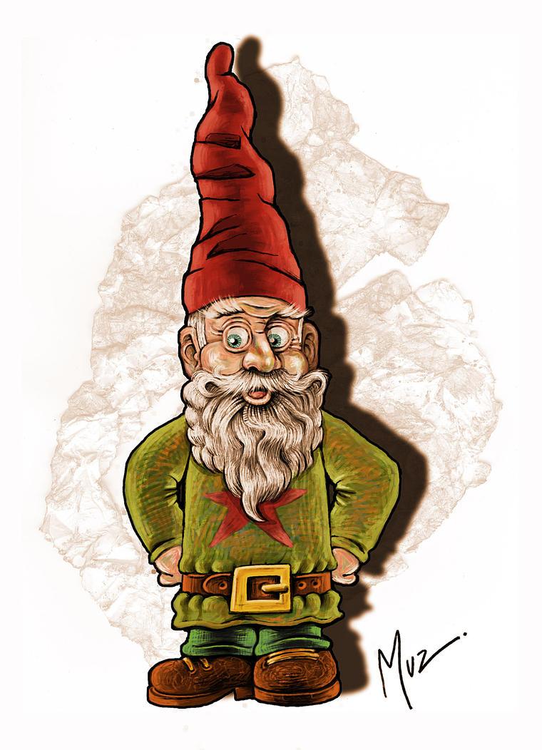 Gnome 4: Gnome 4 Coloured By Muzski On DeviantArt