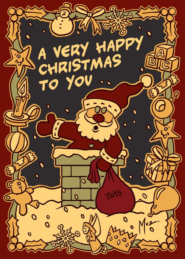 A Very Happy Christmas by muzski