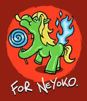 Neyoko Pony by muzski