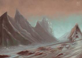 mountain paint by muzski