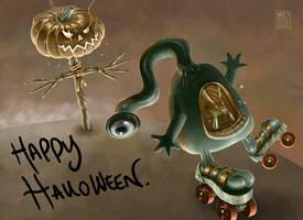 Happy Halloween by muzski