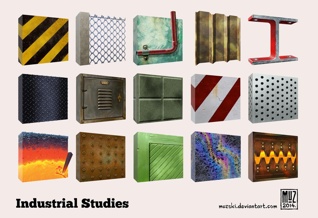 Industrial Studies by muzski