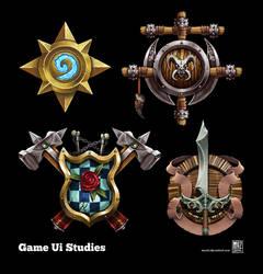 Game Ui Studies by muzski