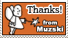 Thanks by muzski