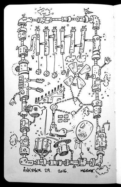 InkTober 29 2016 by muzski