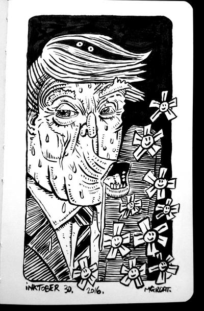 InkTober 30 2016 by muzski