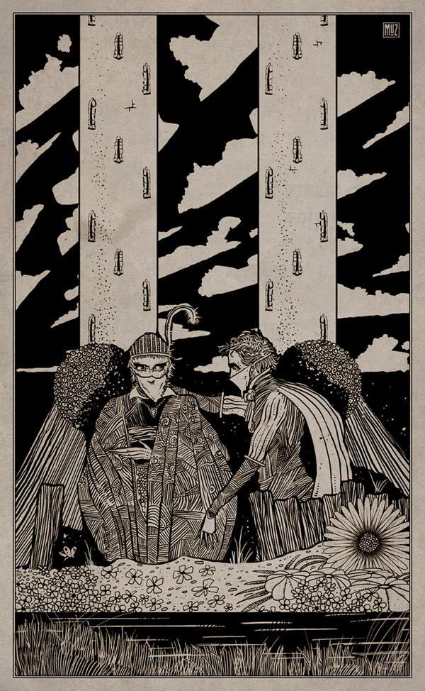 Dreadful Tales artworkings by muzski