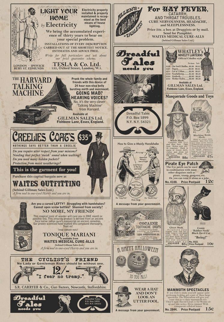 Vintage adverts pt2 by muzski