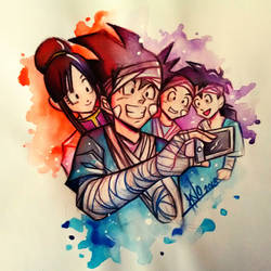 Goku by Khanito