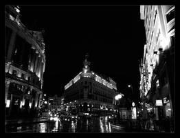 Madrid at night by Javs