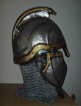 Elven helmet - side view