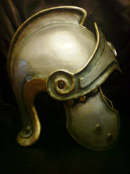 Thracian helm - side view