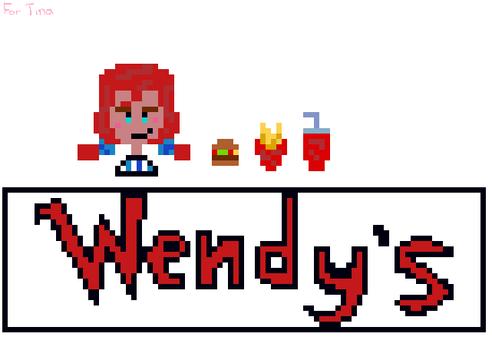 Wendys  Pixel Art