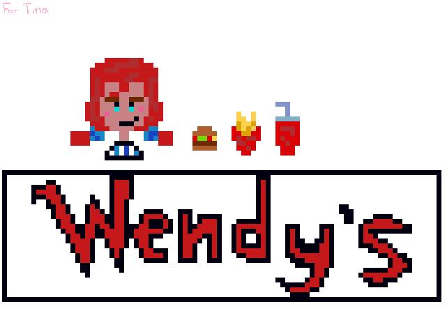 Wendys  Pixel Art by Flavictus